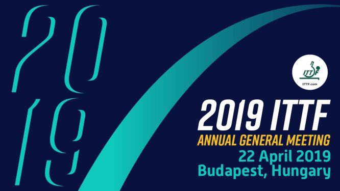 ITTF AGM Éves közgyűlés és konferencia nemzetközi internetes közvetítés